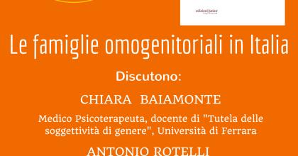 Le famiglie omogenitoriali in Italia di Chiara Baiamonte e Paolo Bastianoni