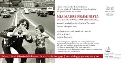 """""""MIA MADRE FEMMINISTA"""""""