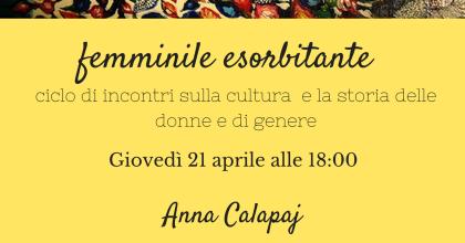 Femminile esorbitante: Anna Calapaj