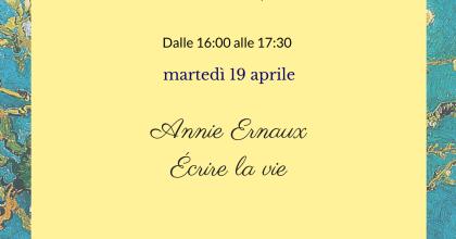 Thè letterario: Annie Ernaux