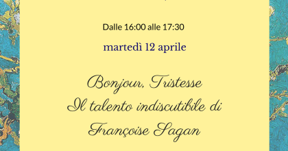 Thè letterario: Françoise Sagan