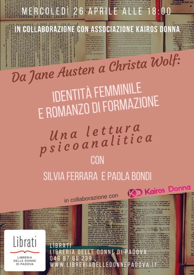 Da Jane Austen a Christa Wolf, una lettura psicoanalitica