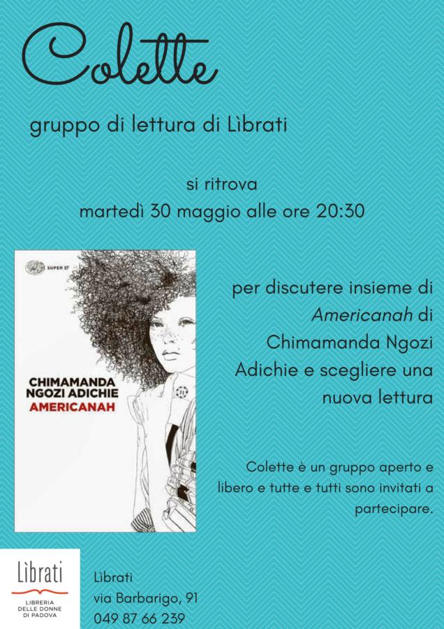 Colette, gruppo di lettura di Lìbrati