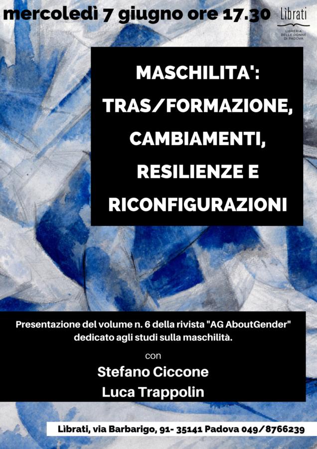 Maschilità: tras/formazione, cambiamenti, resilienze e riconfigurazioni