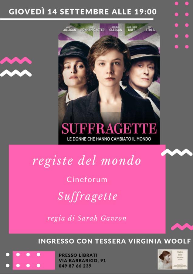 Cineforum: Suffragette di Sarah Gavron