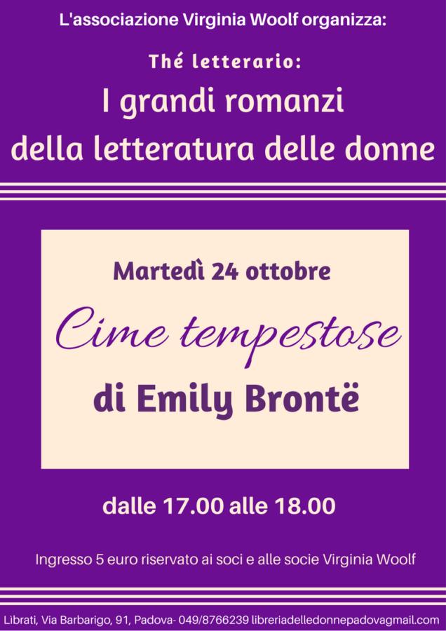 "Thé letterario: ""Cime tempestose"" di Emily Brontë"