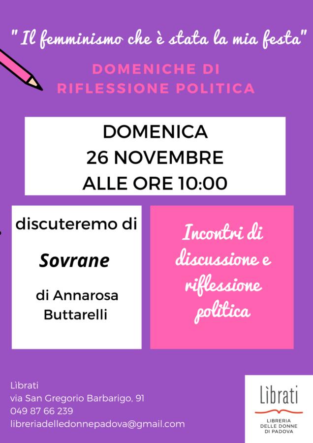 """""""Il femminismo che è stato la mia festa"""": Annarosa Buttarelli"""