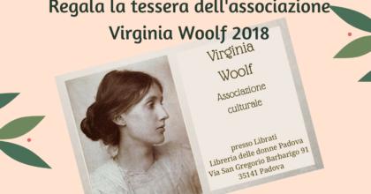 Regali di Natale: la tessera dell'associazione Virginia Woolf