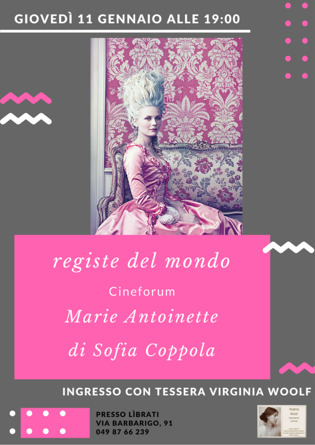 Cineforum: Marie Antoinette di Sofia Coppola