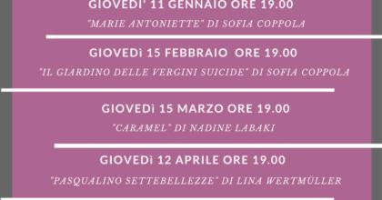 """Cineforum 2018 """"Registe dal mondo"""""""