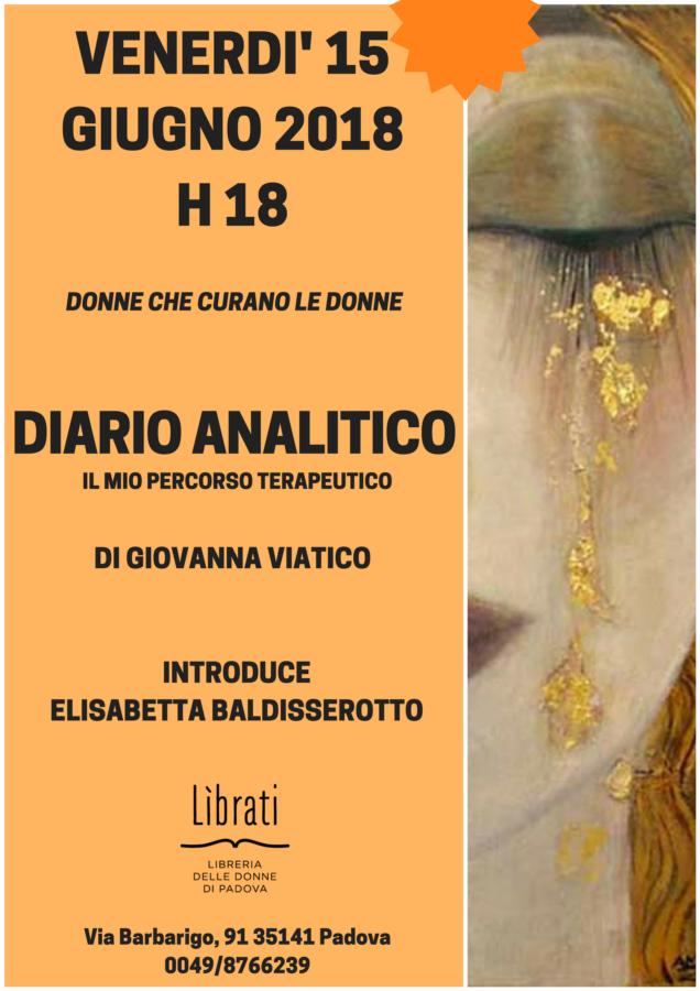 Diario analitico di Giovanna Viatico