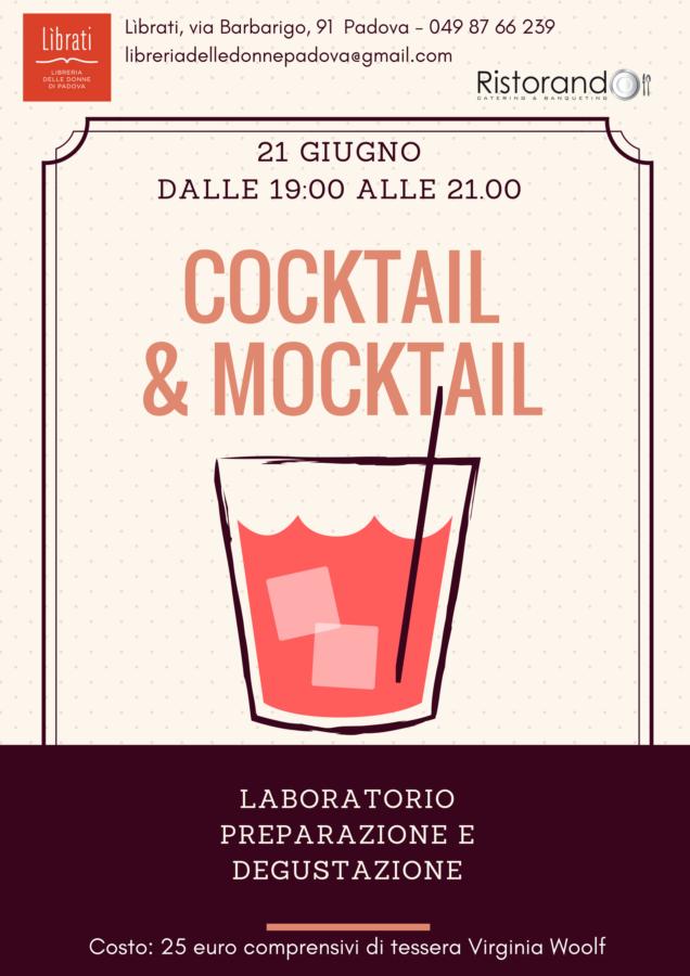 Cocktail & Mocktail. Laboratorio di preparazione e degustazione