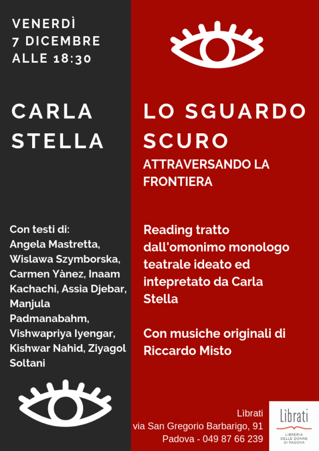 Carla Stella: Lo sguardo scuro