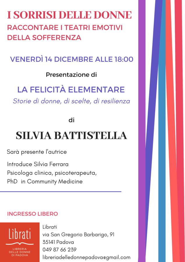 """I sorrisi delle donne: """"La felicità elementare"""" di Silvia Battistella"""