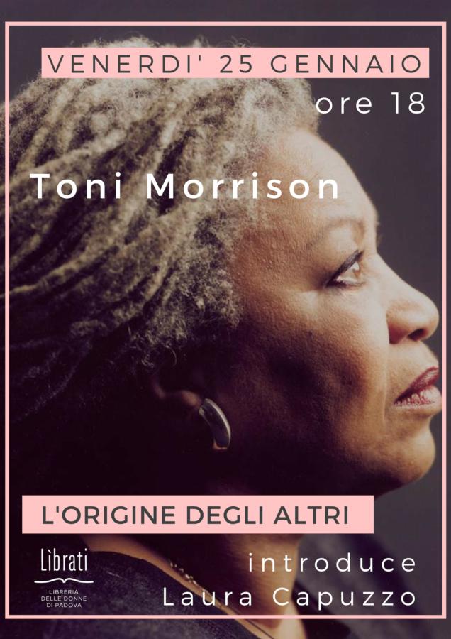 Toni Morrison, L'origine degli altri