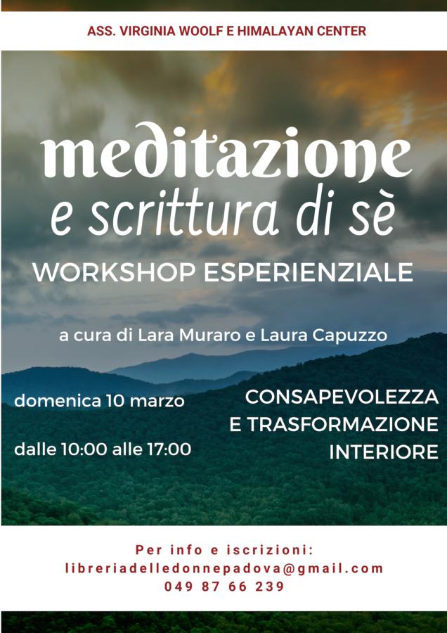 Meditazione e scrittura di sè - Consapevolezza e trasformazione interiore