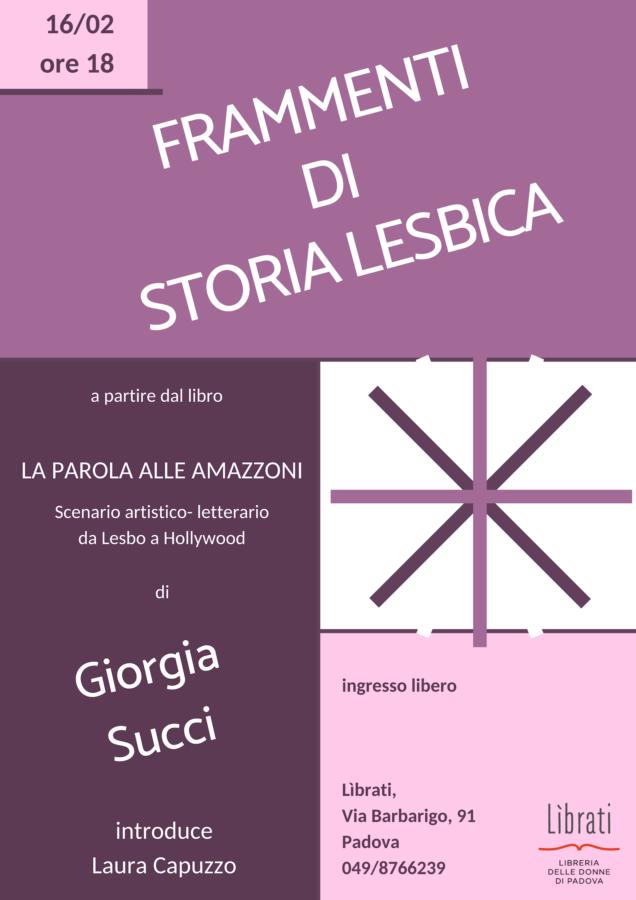 Frammenti di storia lesbica