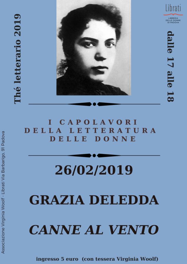 Grazia Deledda, Canne al vento