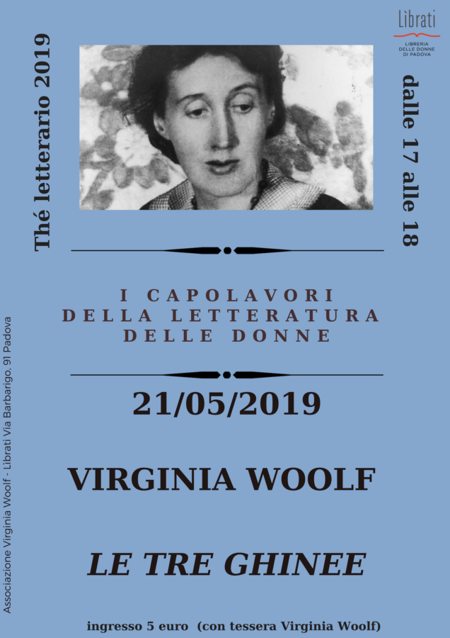 Virginia Woolf, Le tre ghinee