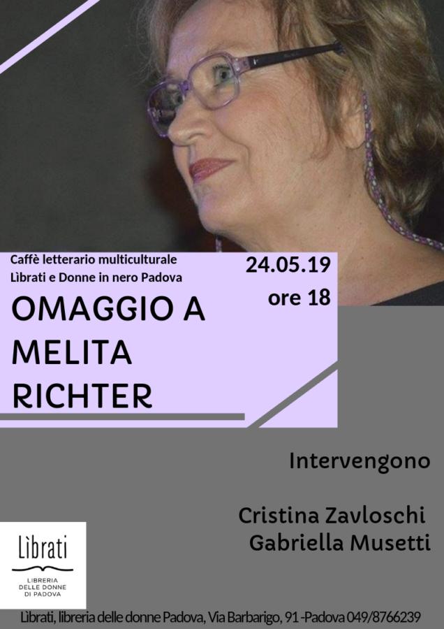 Omaggio a Melita Richter
