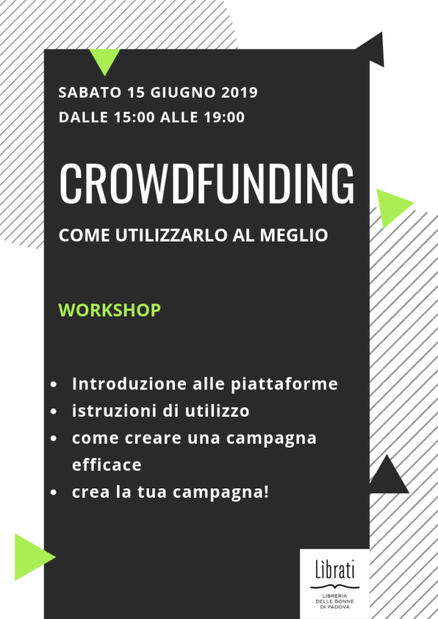 Crowdfunding: workshop