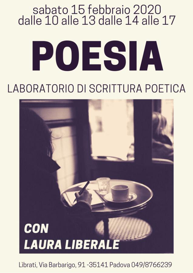 Poesia. Laboratorio di scrittura poetica condotto da Laura Liberale