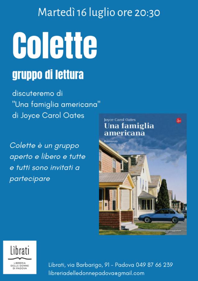 Colette, incontro di luglio