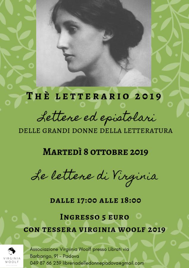 Thè letterario: Le lettere di Virginia Woolf