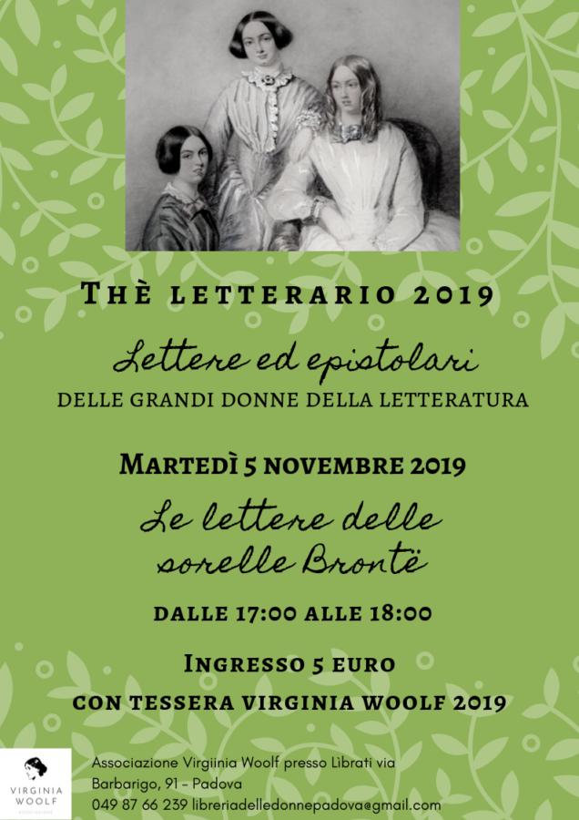 Thè letterario: le lettere delle sorelle Brontë