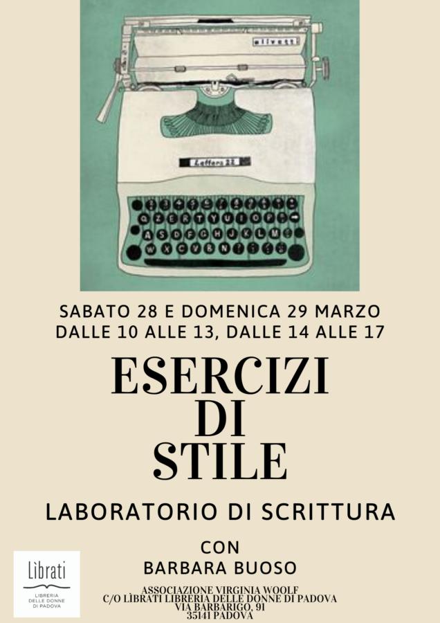 Esercizi di stile - laboratorio di scrittura