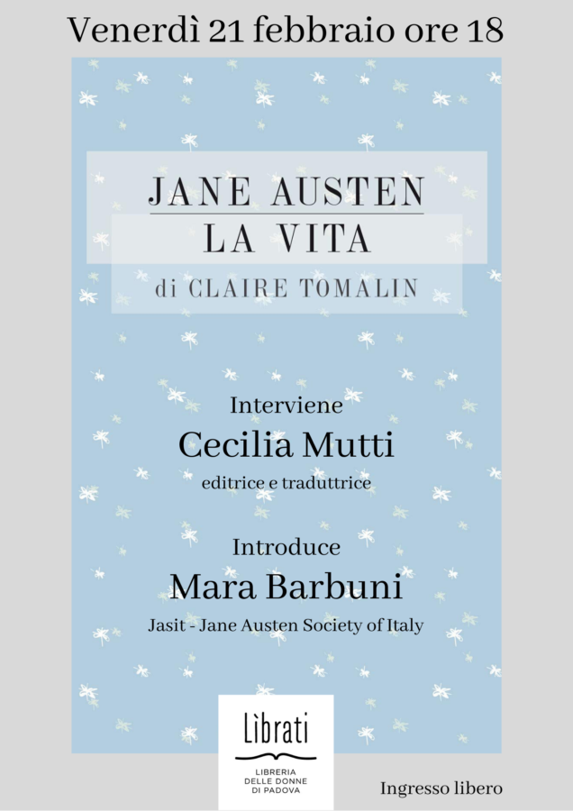 Jane Austen - la vita