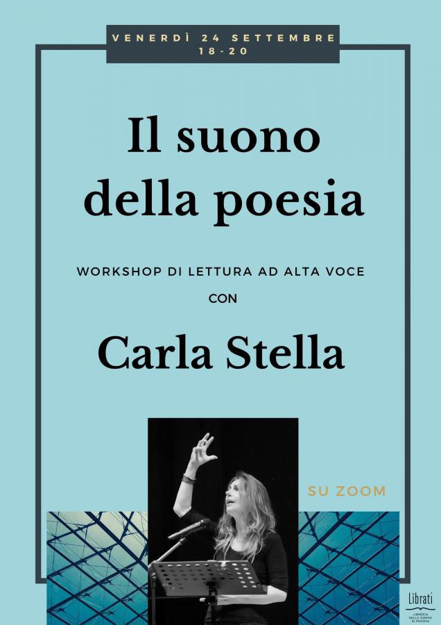 Il suono della poesia - workshop di lettura e interpretazione poetica