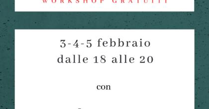 Esercizi di scrittura autobiografica - workshop gratuiti