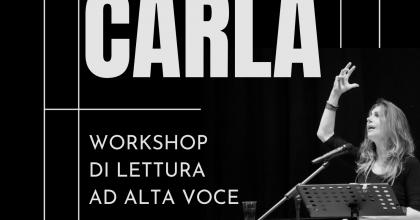 Workshop di lettura ad alta voce con Carla Stella